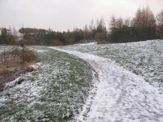 Cycleway Snow