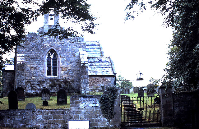 St Peter's church in Chillingham in 1990