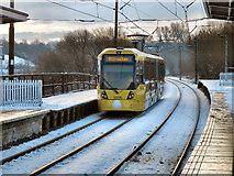 SD7807 : Metrolink Tramway, Radcliffe Station by David Dixon