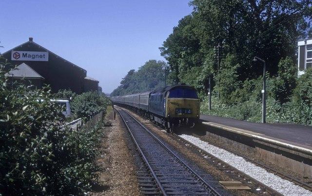 This train dont stop Camborne