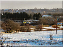 SD7909 : View From Elton Reservoir by David Dixon