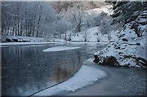 NT2440 : River Tweed at Neidpath by Jim Barton