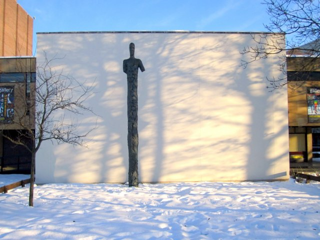'Pillar Man' by Nico Widerberg, University of Northumbria, Sandyford Road