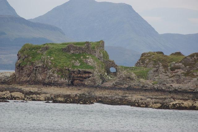 Dunsgiath Castle Remains