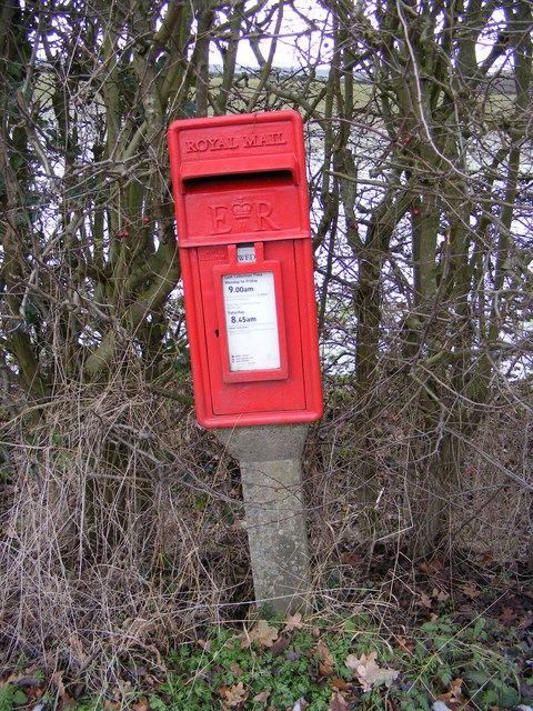 Marlesford Common Postbox