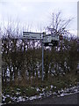 TM3259 : Roadsign on New Road by Adrian Cable