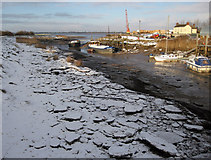 TA0623 : Blocks of Broken Ice on the Foreshore by David Wright