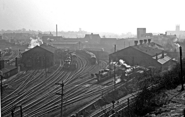 Worcester Locomotive Depot Panorama 169 Ben Brooksbank