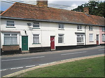 TM2850 : Houses in Melton village centre by Basher Eyre