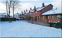 ST3186 : Robert Place houses, Newport by Jaggery