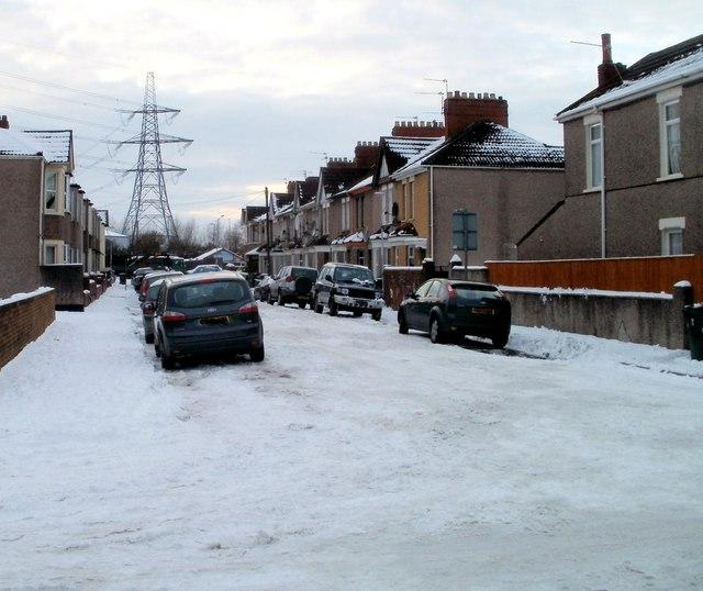 Wingate Street, Newport by Jaggery