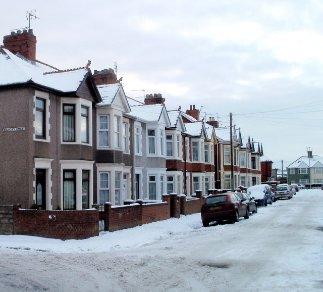 Alice Street houses, Newport by Jaggery