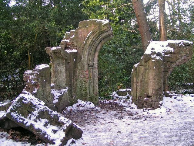 Sydenham Woods - a folly
