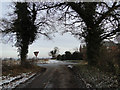 TM4095 : Road junction of Stony Lane, Bilbys and Thurlton Road by Adrian S Pye