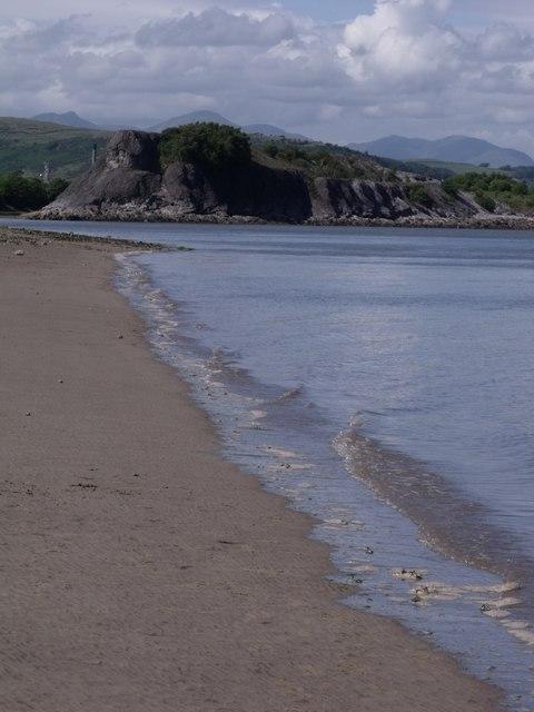 The shore of Morecambe Bay