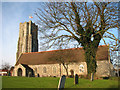 TG5204 : St Andrew's church in Gorleston by Evelyn Simak