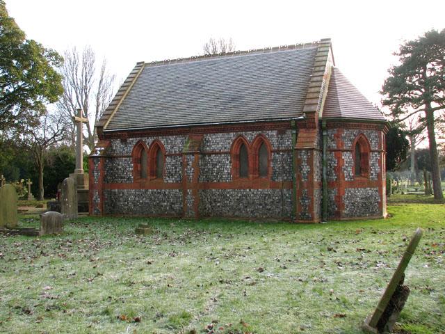 Gorleston cemetery chapel