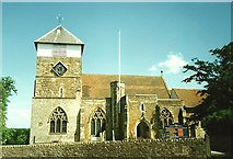 TQ7444 : St. Michael & All Angels Church, Marden by Roger Smith