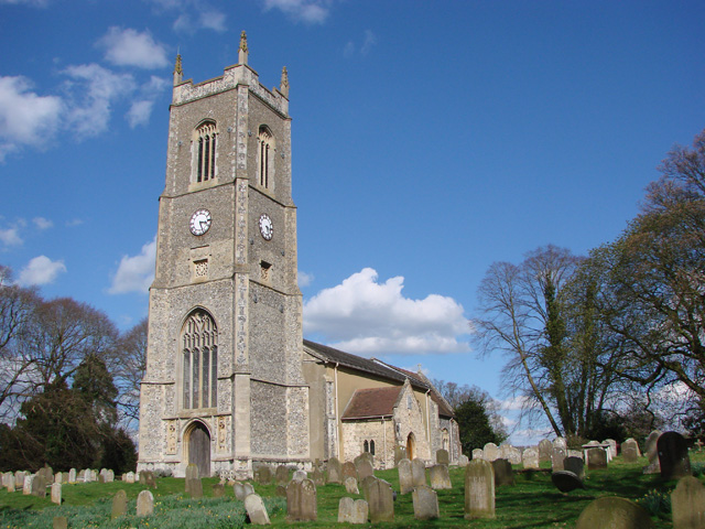 Ditchingham St Mary's church