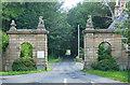 NZ0356 : Gateway near Kiln Pit Hill by Stephen Richards