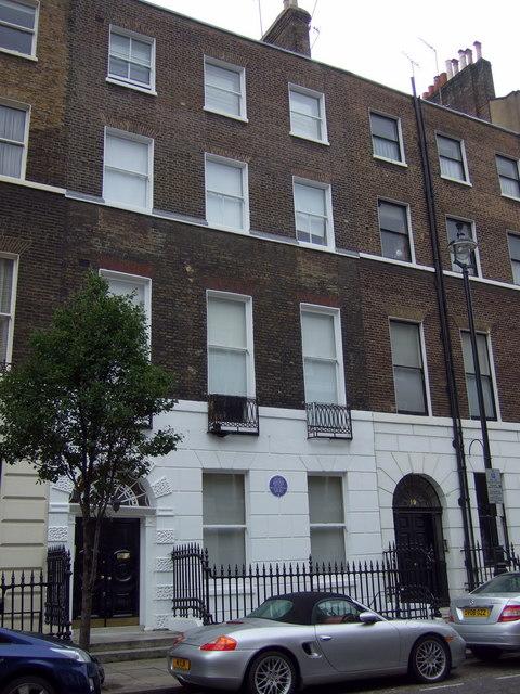 Home of Ethel Gordon Fenwick at 20 Upper Wimpole Street