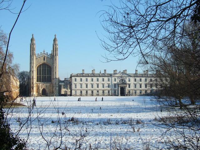 The Backs and King's College Cambridge -    © Richard