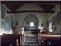 SO2923 : St Martin's church, Cwmyoy by Chris Gunns