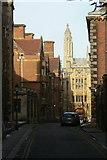 TL4458 : Queens' Lane by Alan Murray-Rust