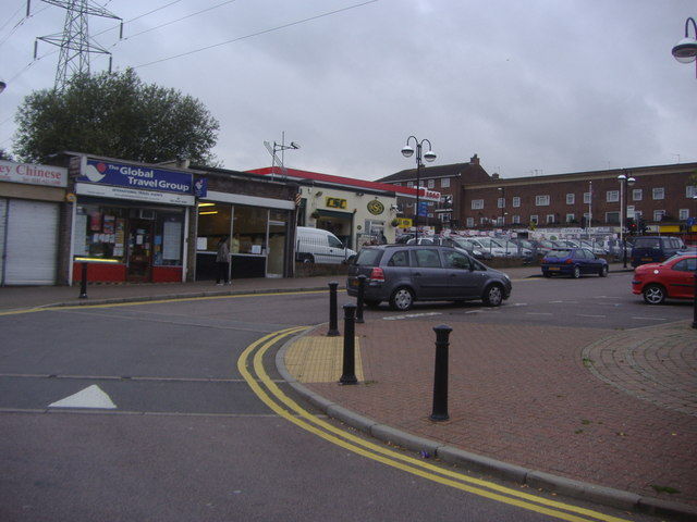 Carpender's Park station approach, South Oxhey