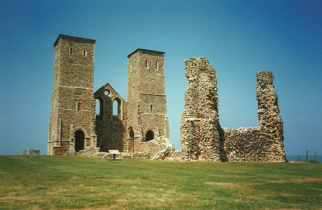 St. Mary's Church, Reculver (ruins)