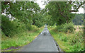 NZ1274 : Country road near Milbourne by Stephen Richards