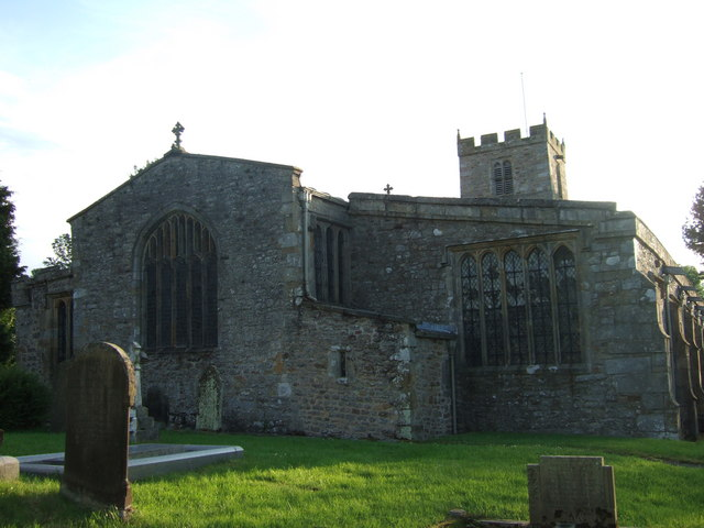 Grinton Church from the east