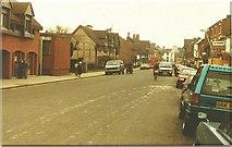 SP2055 : Henley Street, Stratford-upon-Avon in 1984 by John Baker