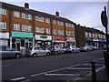 TQ1494 : Shops on High Road, Bushey Heath by David Howard