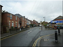 SU6351 : Junction for Kwik Fit in Southern Road by Basher Eyre