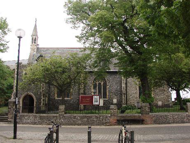 Norwich St John the Baptist Timberhill church