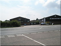 TM2850 : Looking from Church View Close onto the A1152 by Basher Eyre