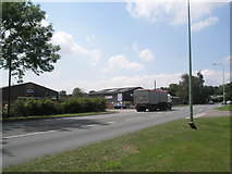 TM2850 : Lorry on the A1152 by Basher Eyre