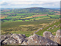 SO5977 : North-west flank of Titterstone Clee Hill by Trevor Rickard