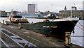 "J3474 : The ""Breydon Trader"" at Belfast by Albert Bridge"