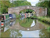 SO9262 : Coffin Bridge near Hadzor, Worcestershire by Roger  Kidd