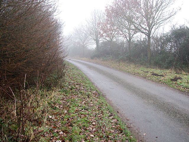 Lug's Lane north of Red House Farm