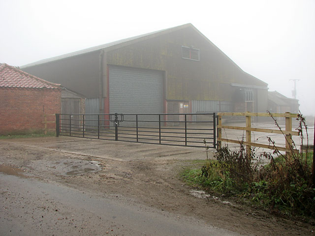 Big shed at Red House Farm