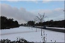 SU5290 : Snow on the footpath by Bill Nicholls