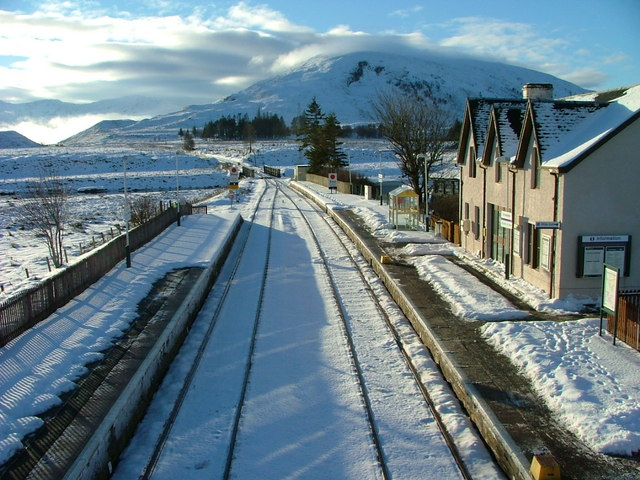The Kyle line at Achnasheen