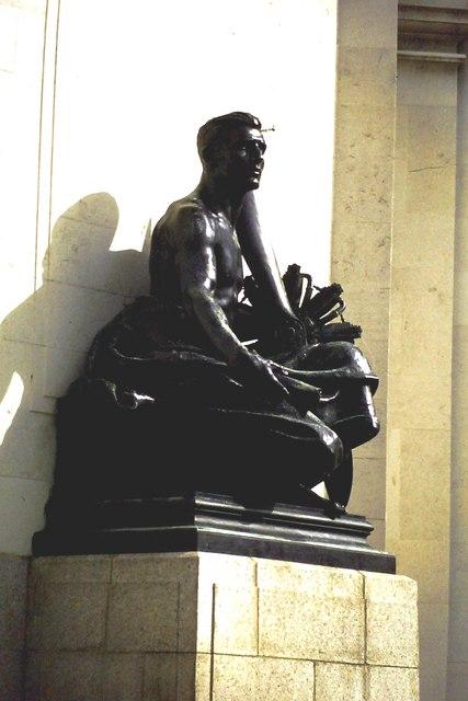 Statue, Hall of Memory, Birmingham