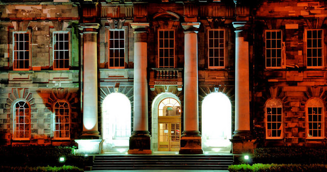 The Union Theological College, Belfast (night view)