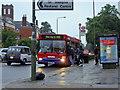 TQ2289 : 143 bus, The Burroughs, Hendon by David Howard