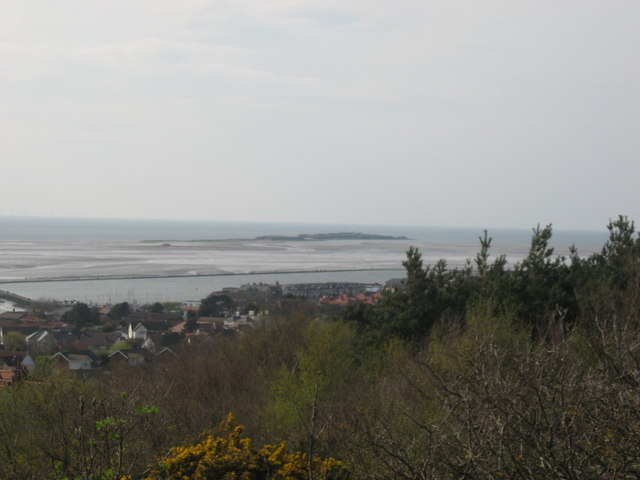 Hilbre Island from Caldy Hill
