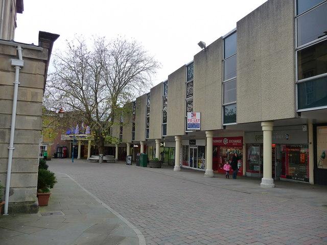 Andover - High Street Shops